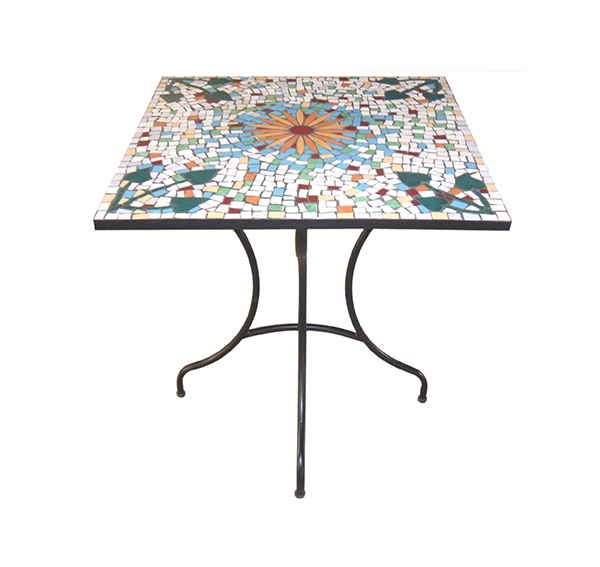 Mosaic Square Table TQV_216048