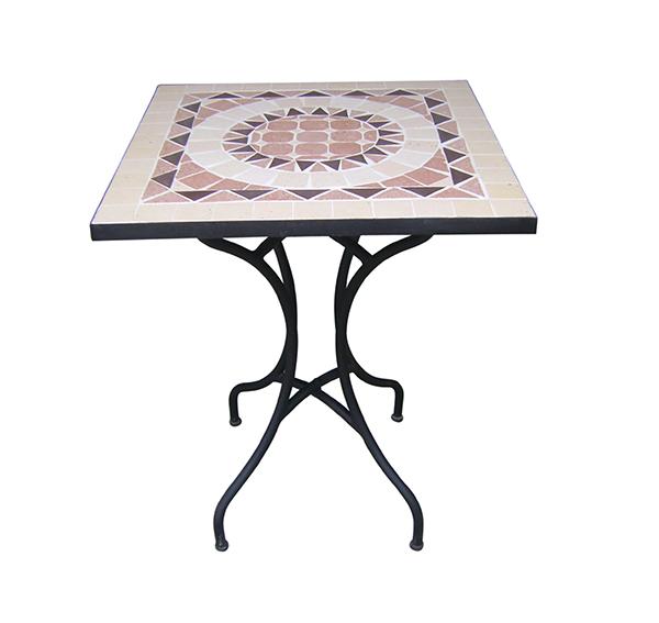 Mosaic Square Table TQV_216015