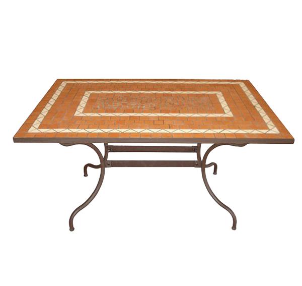 Mosaic Rectangular Table TQV_216032