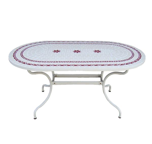 Mosaic Oval Table TQV_216035