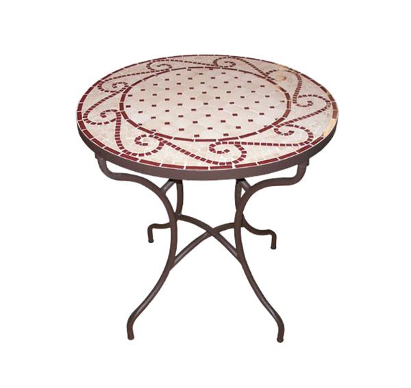 Mosaic Round Table TQV_216038