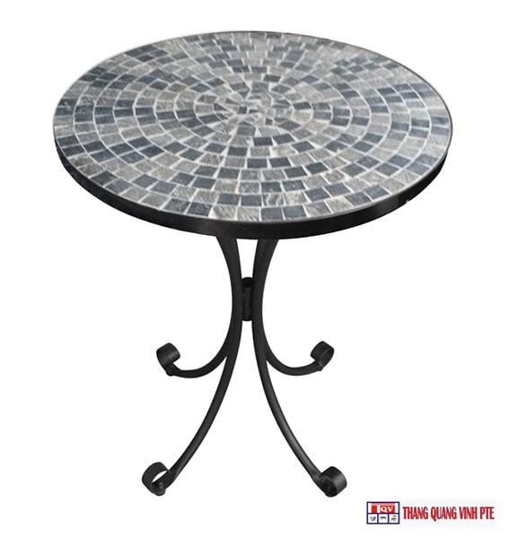 Bàn tròn Mosaic TQV_216083