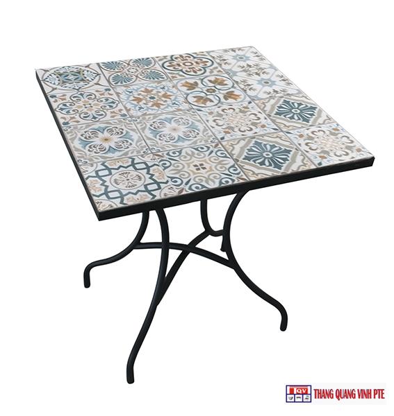 Bàn Vuông Mosaic TQV_216085