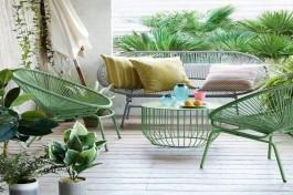 Mẫu bàn ghế sắt theo phong cách hiện đại được ưa chuộng hàng đầu